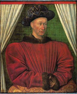 The weak-willed Dauphin, later crowned Charles VII.