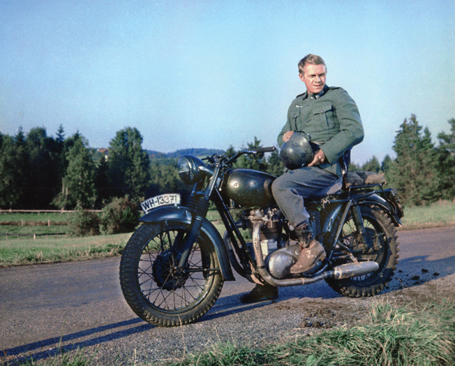 The Longest Day and The Great Escape, appearing in the early 1960s, were star-studded extravangazas that represented a return to audience-pleasing fare. Steve McQueen (above) was in both movies.