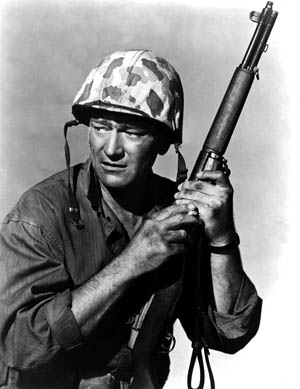 John_Wayne - sands of iwo jima