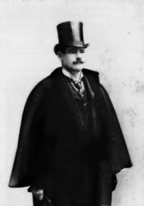 Arthur W. Savage in the 1890s.