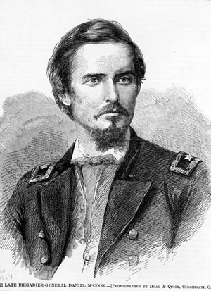 Union Colonel Daniel McCook.