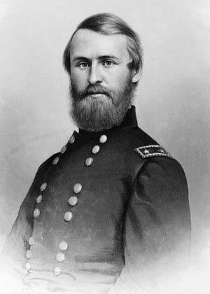 Union Brig. Gen. Jacob Cox.