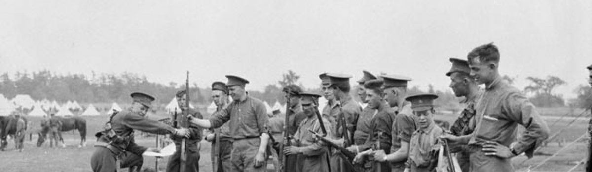 The Troublesome Ross Rifle of WWI