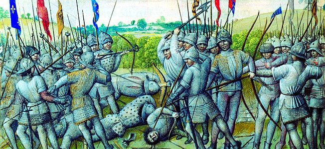 Philip vs Edward at the Battle of Crécy