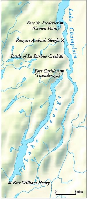 Rogers' Rangers & the Battle of LaBarbue Creek