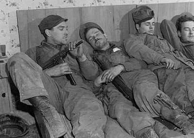 Sleep in the Military: Not Dead, Just Dead Tired