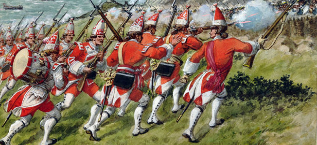 The British had to fight the elements as much as the French to get ashore outside of Louisbourg in 1758, but somehow they completed their mission.