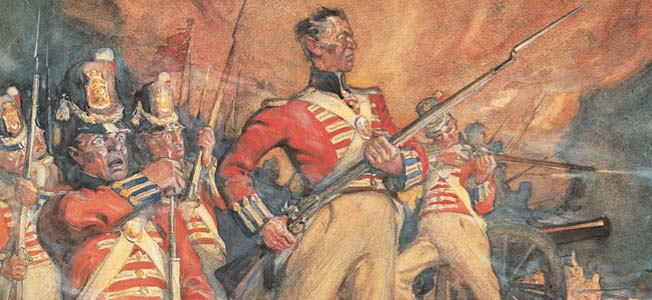 Many of the men serving in the Canadian Volunteers during the Battle of Lundy's Lane and the War of 1812 were American-born.