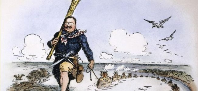 Theodore Roosevelt, the Monroe Doctrine & the U.S. Navy