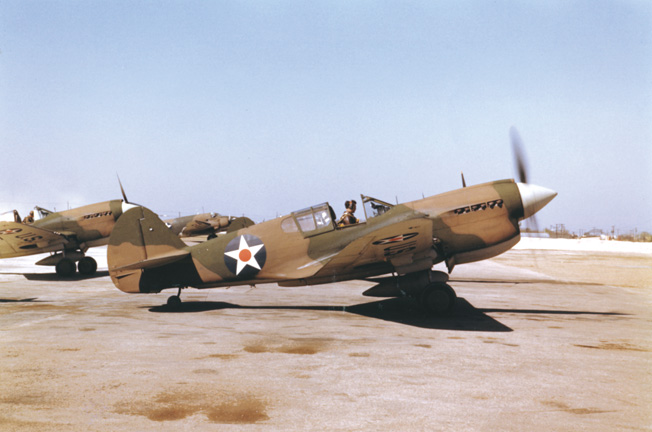 U.S. forces in the Philippines received the Curtis P-40 Tomahawk fighter as a replacement for the aging P-26.
