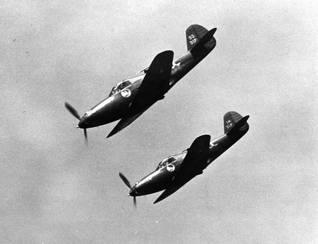 The P-39 had a pointed nose silhouette due to the fact that the Allison V-1710 V-12 engine was mounted behind the pilot.